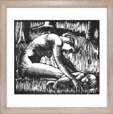 Wood Nymph - Ready Framed